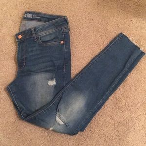 Old Navy Rockstar ripped jeans
